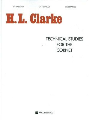 H.LClarke Technical Studies For The Cornet Learn to Play MUSIC BOOK Cornet