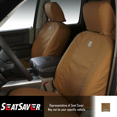 Marvelous Seat Covers Sewn With Carhartt Fabric Ssc2446Cabn Fits Pabps2019 Chair Design Images Pabps2019Com