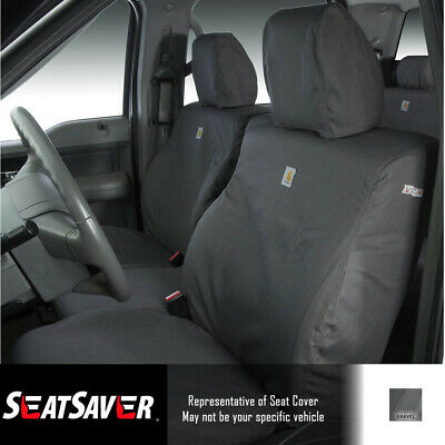 Magnificent Seat Covers Sewn With Carhartt Fabric Ssc2421Cagy Fits Machost Co Dining Chair Design Ideas Machostcouk