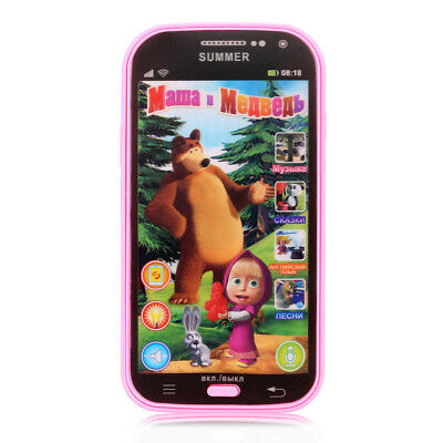 New Educational Baby Phone Toy Simulator Music Phone Touch Screen Children Toy E