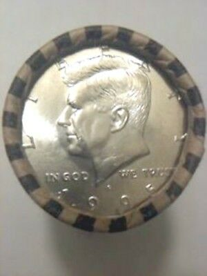 1995-P BU  Kennedy Half Dollar Original Bank Wrapped roll of 20.  OBW