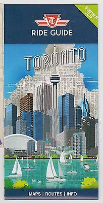 2017 TTC New Full Ride Guide Subway Stations Toronto Map *New* Most Info So Far