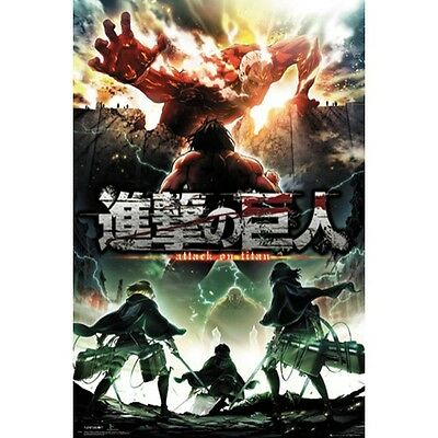 Attack on Titan 2 - Key art - Poster #1A