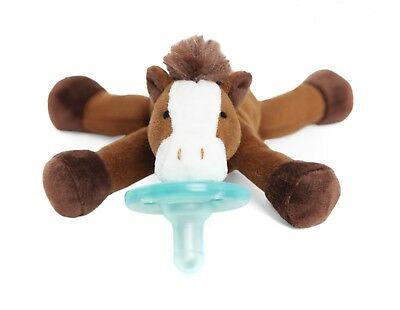 Wubbanub Infant Newborn Baby Soothie Pacifier - Limited Edition Horse