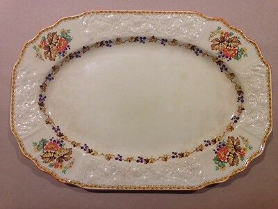 Vintage Myott Staffordshire Large Serving Platter, Autumn pattern FH2909