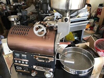 BC-2 COMMERCIAL COFFEE ROASTER- Roast 100G to 2lb.(10Lb per hour!)