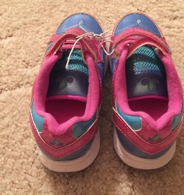 SHIMMER AND SHINE ATHLETIC SHOES Sz 9 NEW! Nickelodeon Sparkly Pink Tennis shoe