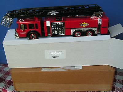 1998 Sunoco Fire Truck Christmas in July--serial # 1012--limited edition