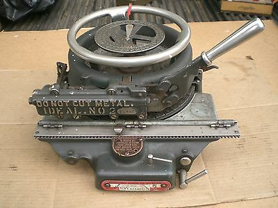 Vintage Ideal No. 2 Letter Number Stencil Cutting Machine