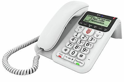 BT Decor 2600 Corded Telephone with Answer Machine - Single
