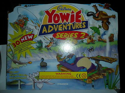 Yowie Yowies, *2000, CADBURY'S YOWIES * SERIES 7 POINT OF SALE * BACKING BOARD