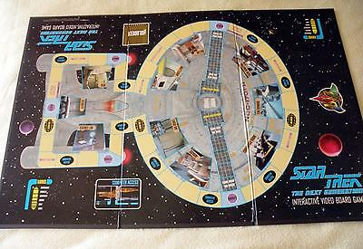 Star Trek The Next Generation Video Board Game Replacement Part - Game Board