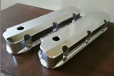 Ford Windsor 389 302 351 Sheet Alloy Fabricated Valve Rocker Covers