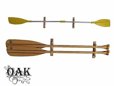 Wooden hanger for oars big
