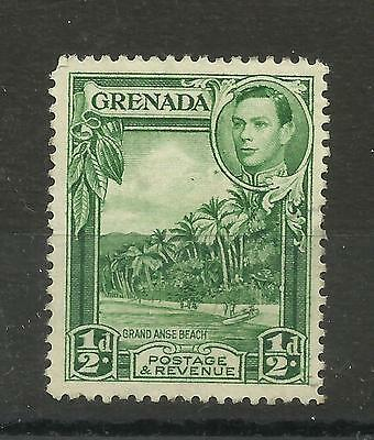Grenada 1938 Sg 153 1/2d Yellow Green, perf 12.5,  LM/M [1249]