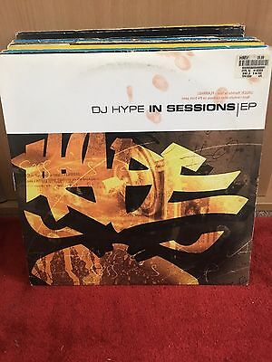 """Dj Hype In Sessions EP 2x12"""" True Playaz D&B"""