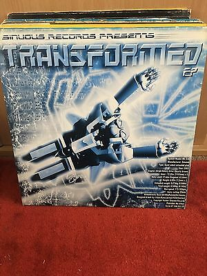 """Various Transformed Ep 2x12"""" Sinuous Records I-Rate Kano & Jarman"""