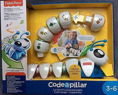 Code-a-Pillar - La Chenille Programmable - Fisher Price - Grand Prix 2016 - NEUF