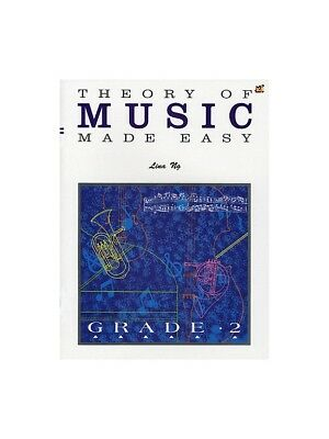 Theory Of Music Made Easy Grade 2 Learn to Play Present Gift MUSIC BOOK