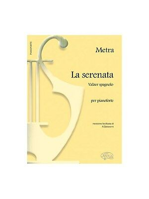 Metra Serenata Valzer Spagnolo Pf Bk Learn to Play Present Gift MUSIC BOOK