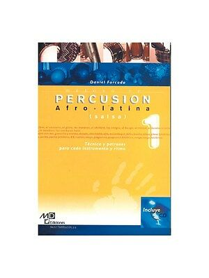 Método de Percusion Afro-Latina Salsa Learn to Play MUSIC BOOK & CD Percussion