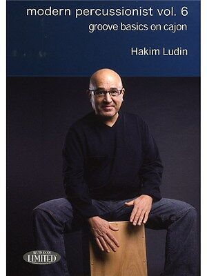 Hakim Ludin Modern Percussion Vol6 Groove Basics On Cajon MUSIC Lesson Tutor DVD