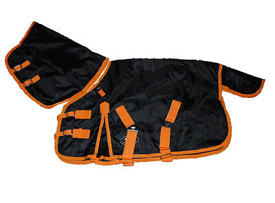 High Quality Waterproof Horse Combo Turnout Rug Cloth With Neck Cover Equestrian