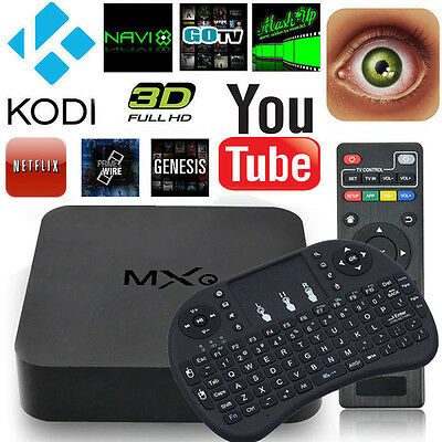 4K smart TV Box S805 Quad Core Android 4.4 Wifi Miracast Airplay HD Media Player