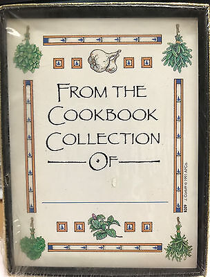 Cookbook Bookplates Antioch Publishing Company