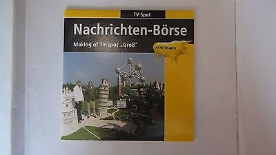2 Deutsche Post CD´s mit Making of TV Spots mit Thomas Gottschalk Aktien 2002