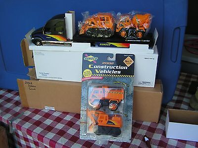 2002 GOLD Sunoco Construction Carrier w/2 vehicles--series 9--serial # 2365 +++