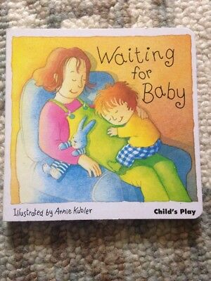 Waiting For Baby Picture Book New Baby Pregnancy Sister Brother Sibling