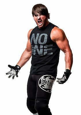 A J Styles 09 (Wrestling) Photo Prints