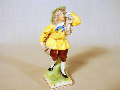 Old Erphila Germany Estate 3-3/8inch Figurine, Multi-Colored, Excellent Conditn.