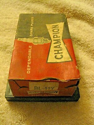 Vintage Champion NEW Old Stock BL-11Y  Spark Plugs Set of 10