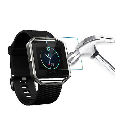 Real 9H Ultra Thin Tempered Glass Screen Protector for Fitbit Blaze Smart Watch