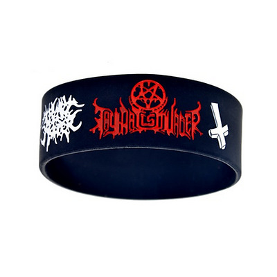 THY Art is Murder rock band Silicone Rubber Wristband bracelet jewelry gift 1pcs