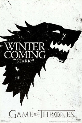 Game of Thrones - Winter is Coming - Stark Sigil - Poster #2D