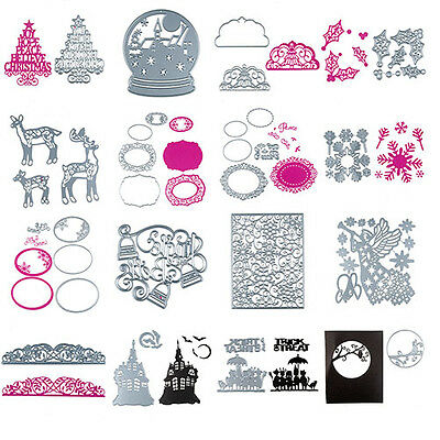 NEW Halloween Metal Cutting Dies Stencil DIY Scrapbooking Decor Embossing Hot