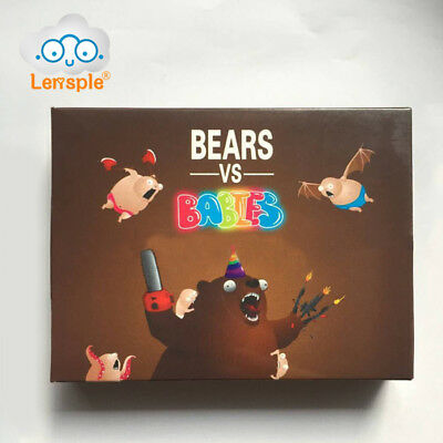 Bears vs Babies Novelty Card Game From the Creators of Exploding Kittens