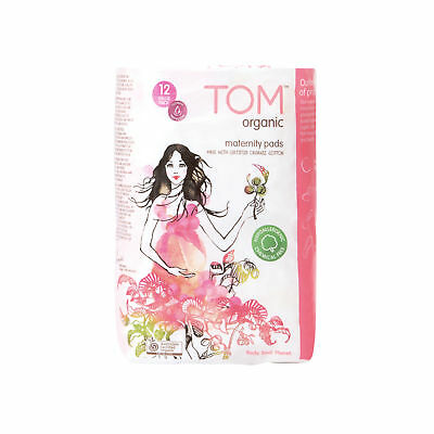 NEW TOM Organic Maternity Pads (12 pack)