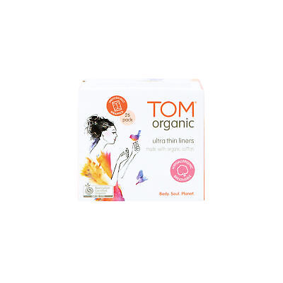 NEW TOM Organic Ultra Thin Liners (26 pack)