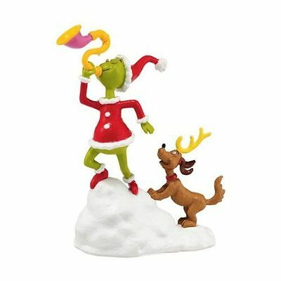 New Dept56 Grinch And Max, A Toot