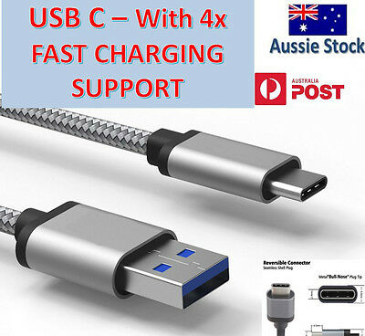 GENUINE Samsung Galaxy S9 / Plus S8 Note 8 Type C USB Sync Charger Power Cable