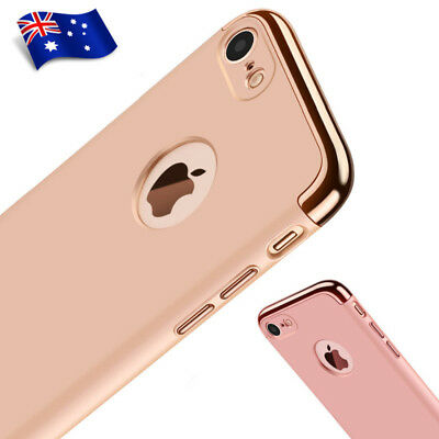 For Apple iPhone 6 6S 7 Plus Ultra-Thin Luxury Shockproof Matte Hard Case Cover