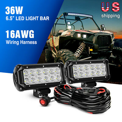 Super Nilight Off Road Led Light Bar Wiring Harness Kit 2 Years Warranty Wiring Cloud Oideiuggs Outletorg