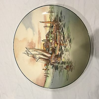Royal Doulton Seriesware Plate Home Waters D6434