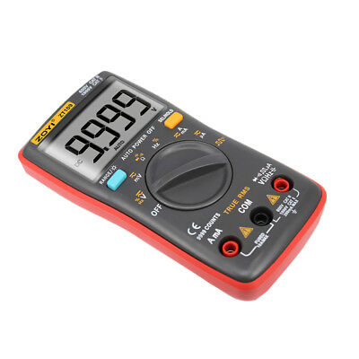 9999 Counts Auto Manual Ranging Digital Multimeter TRMS Multi Tester AC/DC