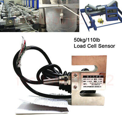 S TYPE Beam Load Cell Scale Sensor Weighting Sensor 50kg/110lb M8 With Cable