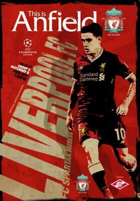 * 2017/18 - LIVERPOOL v SPARTAK MOSCOW (CHAMPIONS LEAGUE - 6th December 2017) *